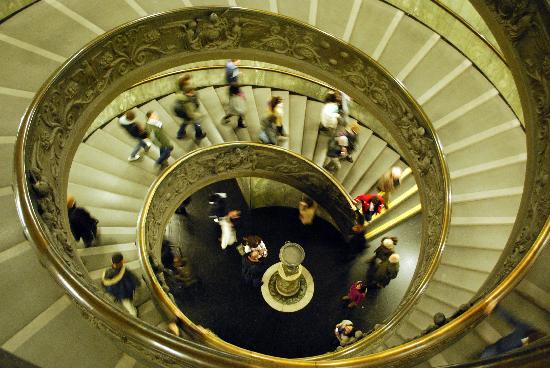 Scale a chiocciola foto di musei vaticani citt del - Scale a chiocciola foto ...