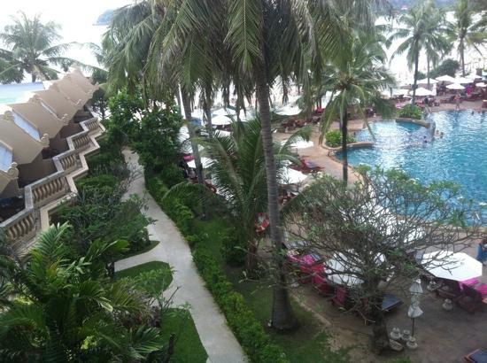 Kata Beach Spa Resort : from our balcony