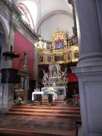 Dubrovnik St Blaise Church Altar Picture Of Church
