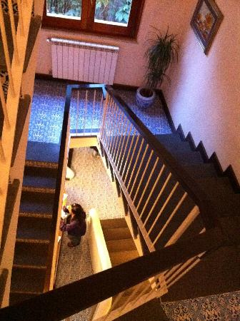 Hotel Mignon: Stairs