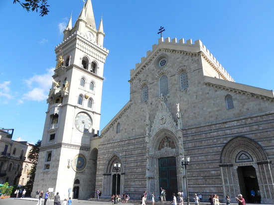 Messine, Italie : Messina - Duomo and Campanile