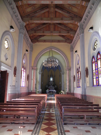 Messine, Italie : Messina - Shrine of Montalto - inside