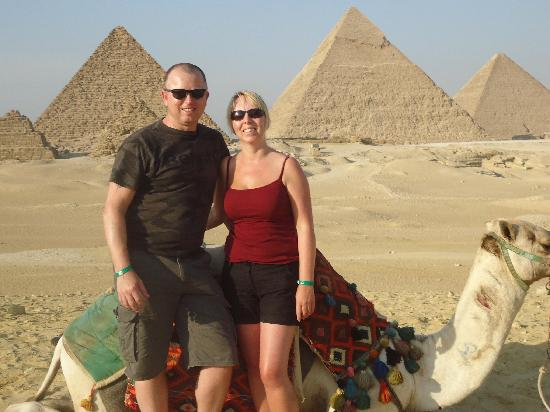 Aqua Blue Sharm Excursions - Day Tours: Us behind the 9 amazing pyramids