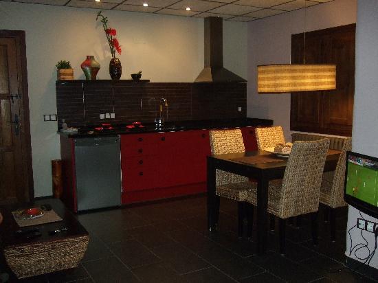 Espacios del mundo: Salón-Cocina