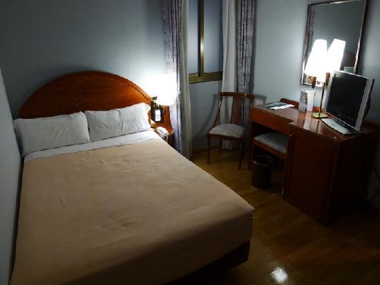 Hotel Rialto: 2.泊まった部屋は狭い。