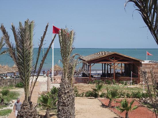 Hasdrubal Thalassa & Spa Djerba: vue du restaurant de la plage