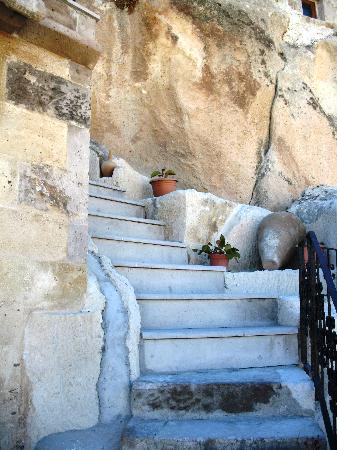Castle Cave House: Terrace view