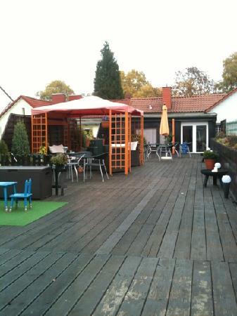 Hotel Garni Forum: Roof terrace is brilliant