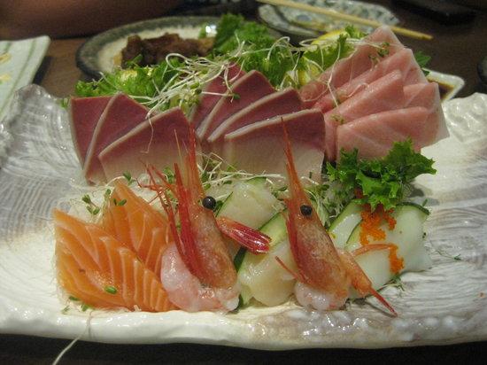 Sushi Zanmai: sashimi