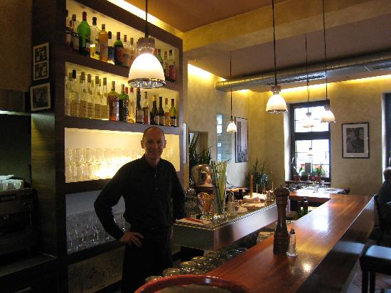 Le Galopin: Owner and Bar