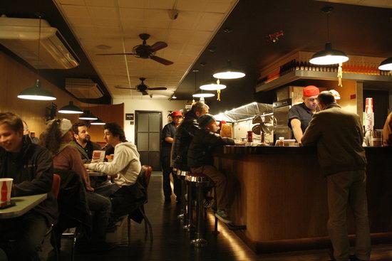 Photo of American Restaurant Joy Burger Bar at 361 Avenue Of The Americas, New York City, NY 10014, United States