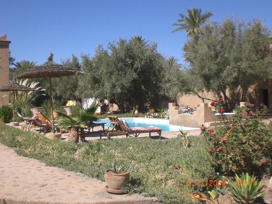 Dar Lorkam: le jardin