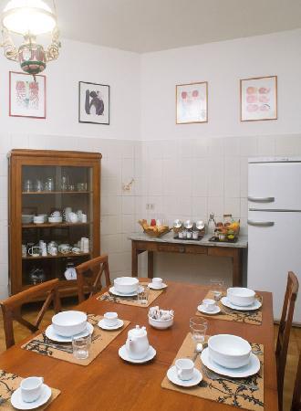 B&B Palazzo Panfilli: Kitchen