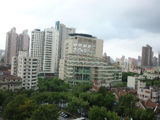 Shanghai Hotel: View from hotel room
