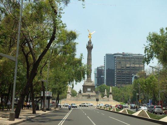Hotel Embassy: Paseo La Reforma 6 Min. zu Fuss