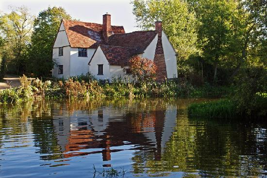 East Bergholt, UK: Willy Lott's Cottage