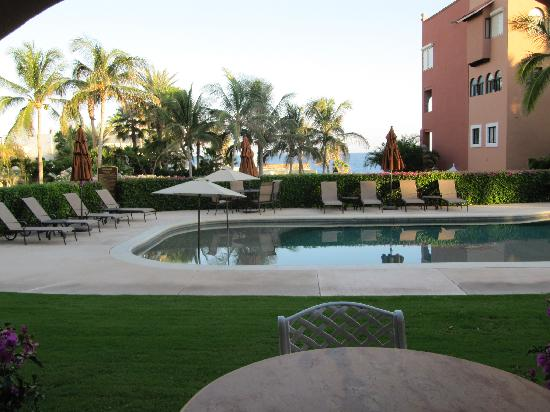 Casa Del Mar Beach Condos: View from unit - your own pool