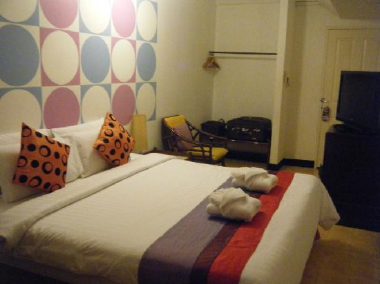 Sawasdee Sukhumvit Inn: This is room 3G I stayed from October 15 to 17, 2011