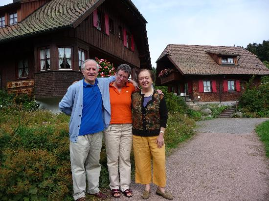 Landhaus Anja: Insieme a Frau Doris Klumpp nel residence