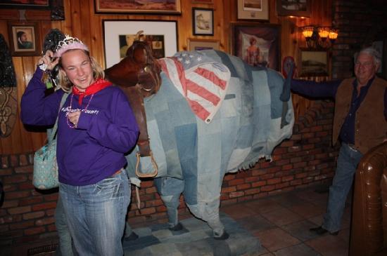 Casey's Cowtown Club: The Denim Buffalo