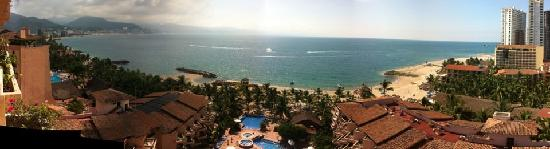 Friendly Vallarta Resort : our ocean view from 10th floor in the tower