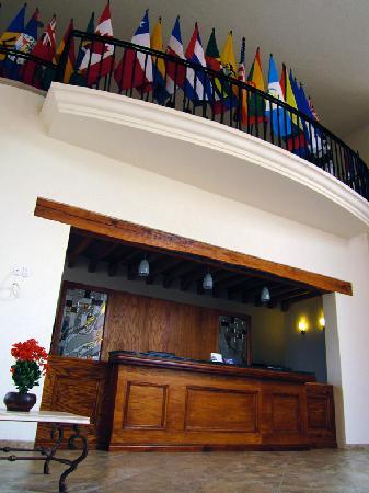 Ciudad Guzman, México: Recepción del hotel.