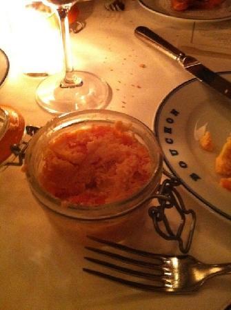 Bouchon: Rillettes de saumon, bonnes