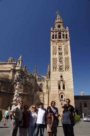 Sevilleventours: En la Giralda