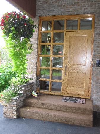 La Maison Becard : l'entrée