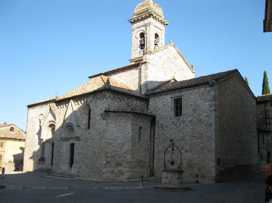 San Quirico dOrcia, İtalya: Church