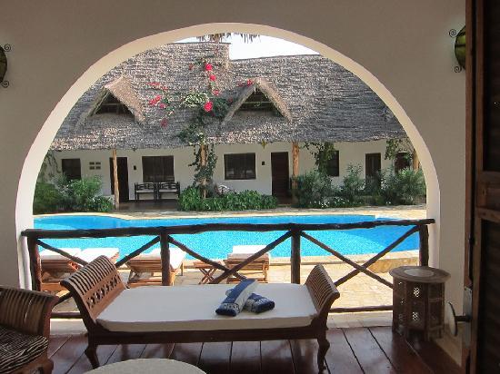 Pwani Mchangani, Tansania: My veranda.