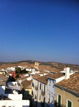 Alhama de Granada, España: view from a roof terrace