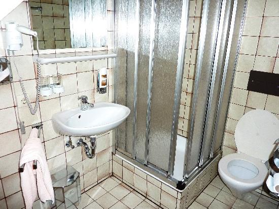 Alte Krone: The bathroom