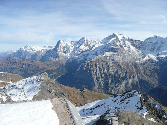 Murren, Swiss: Eiger, Mönch und Jungfrau