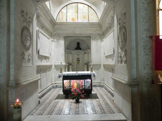Duomo di Napoli : Naples - Duomo - Crypt