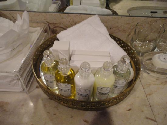 Egerton House Hotel : Luxury toiletries - refilled every day as they were used.