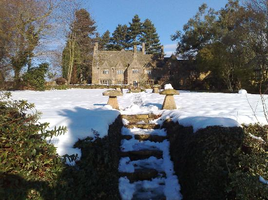 Charingworth Manor: Charringworth Manor in the Winter of 2009