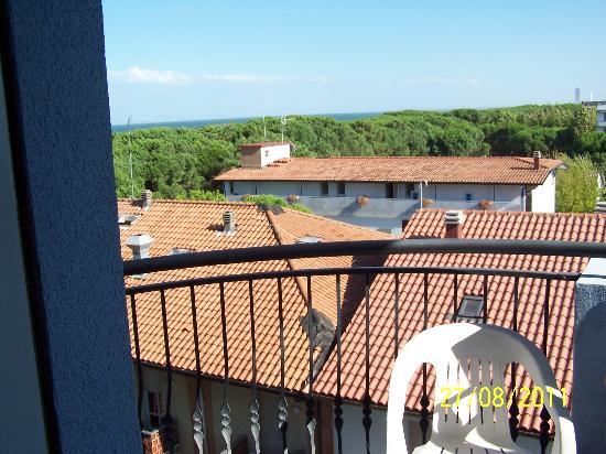 Hotel Antea Fabbri Holidays: Vista dal terrazzo - stanza ultmo piano
