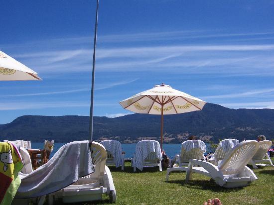 Hotel del Lago: sector de piscina