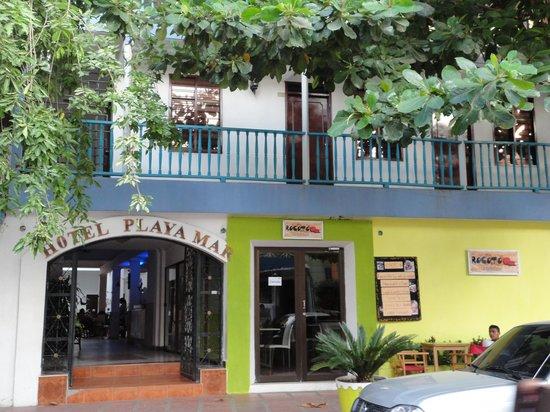 Hotel Playa Mar: Fachada