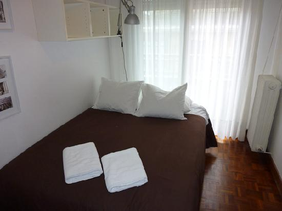 Hospedaje Donosti@ B&B: The bedroom