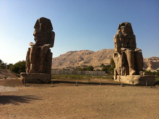 """Colossi of Memnon: the """"boys"""""""