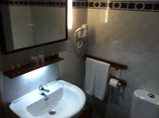 Hotel Puerta Pinares: Baño