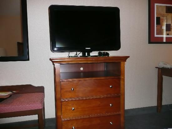 Hampton Inn & Suites Fresno: TV