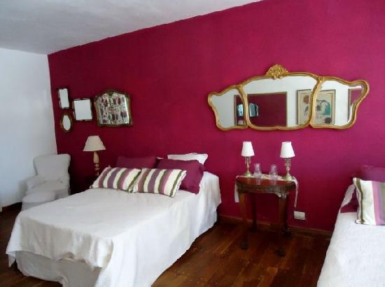 Torre del Guayaibi: Suite roja