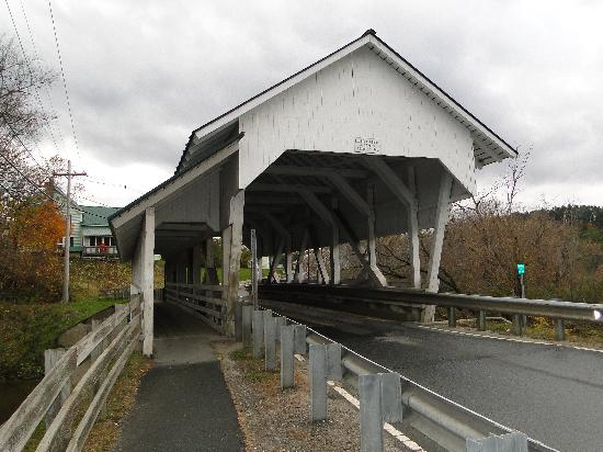 Miss Lyndonville Diner: Miller's Run Bridge-1878