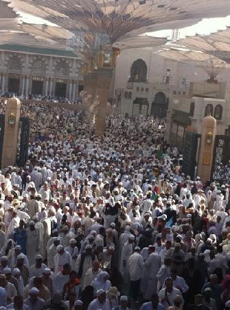Masjid an-Nabi: haram