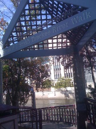 Worldmark Reno: Entrance to the RiverWalk in downtown Reno