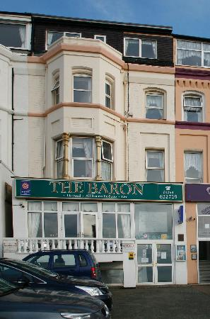 The Baron: Baron Hotel Frontage Oct 2011