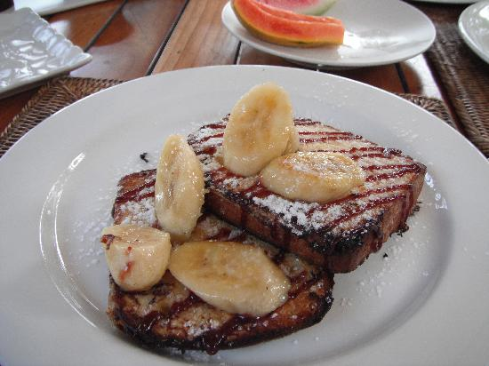 Vatulele Island Resort: Banana French Toast